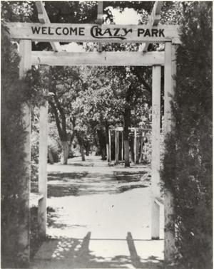 "Primary view of object titled '""Welcome to Crazy Park""'."