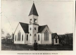 Primary view of object titled 'Presbyterian Church of Mineral Wells'.
