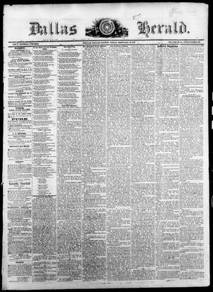 Primary view of Dallas Herald. (Dallas, Tex.), Vol. 18, No. 23, Ed. 1 Saturday, February 18, 1871