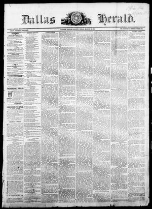 Primary view of Dallas Herald. (Dallas, Tex.), Vol. 18, No. 27, Ed. 1 Saturday, March 18, 1871