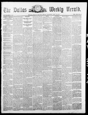 Primary view of object titled 'The Dallas Weekly Herald. (Dallas, Tex.), Vol. 21, No. 36, Ed. 1 Saturday, May 23, 1874'.