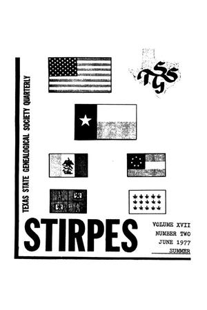 Primary view of object titled 'Stirpes, Volume 17, Number 2, June 1977'.
