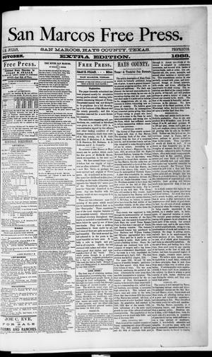 San Marcos Free Press. (San Marcos, Tex.), Ed. 2 Thursday, October 11, 1883