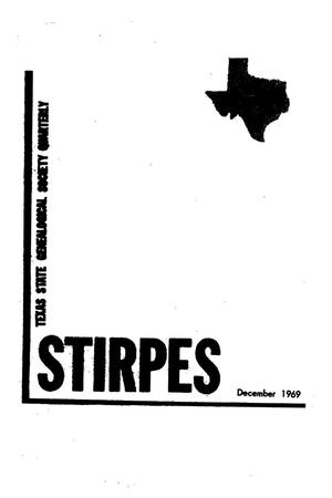 Primary view of object titled 'Stirpes, Volume 9, Number 4, December 1969'.