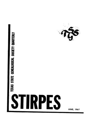 Primary view of object titled 'Stirpes, Volume 7, Number 2, June 1967'.