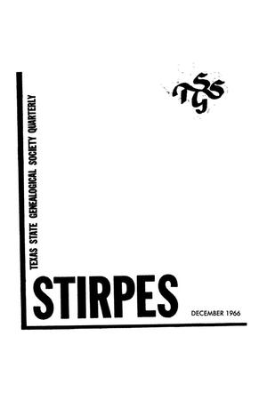 Stirpes, Volume 6, Number 4, December 1966.
