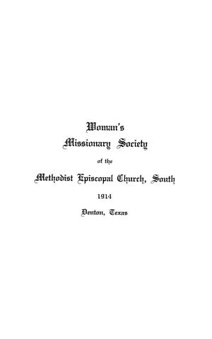 Woman's Missionary Society of the Methodist Episcopal Church