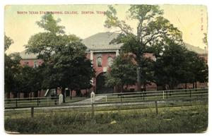 Primary view of object titled 'North Texas State Normal College, Denton, Texas'.