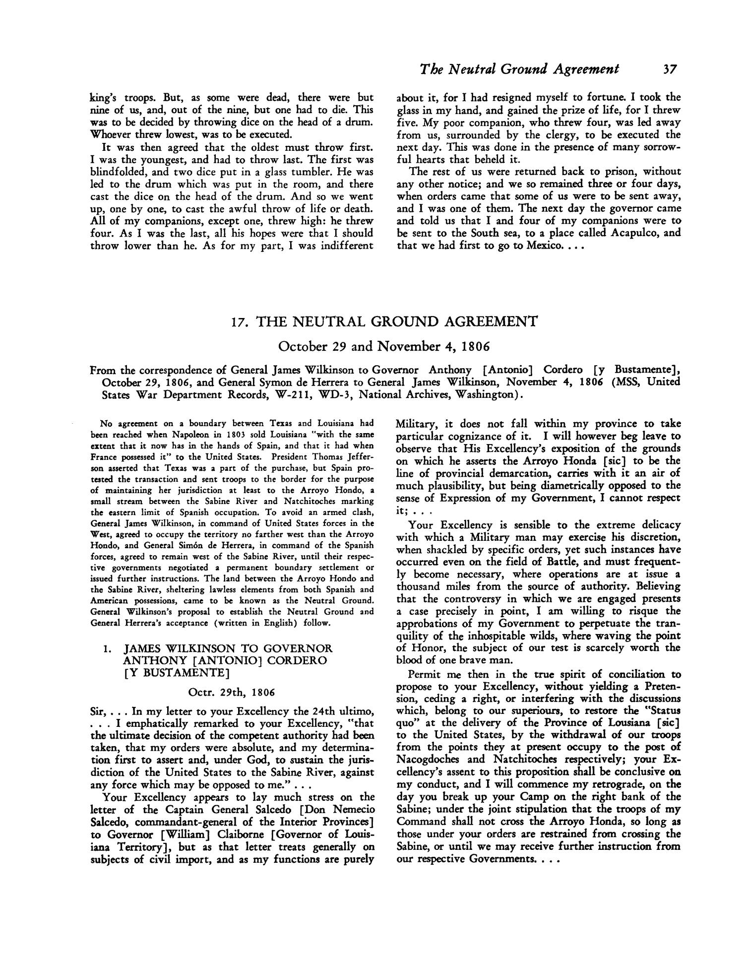 Documents Of Texas History Page 37 The Portal To Texas History