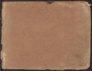 Primary view of object titled '[Record Book of Conditional Land Grants for Washington County, 1841]'.
