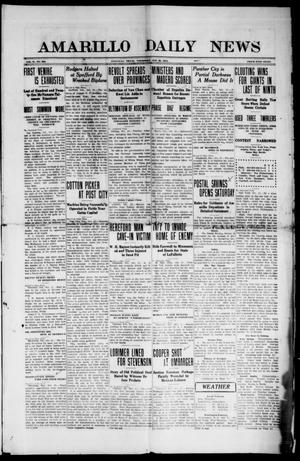 Primary view of object titled 'Amarillo Daily News (Amarillo, Tex.), Vol. 2, No. 306, Ed. 1 Thursday, October 26, 1911'.