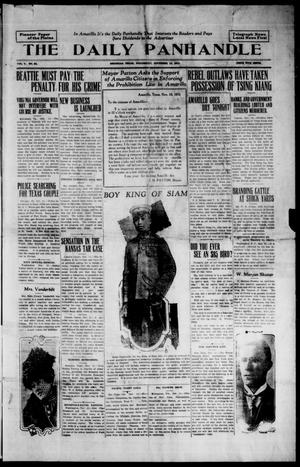 Primary view of object titled 'The Daily Panhandle (Amarillo, Texas), Vol. 5, No. 94, Ed. 1 Wednesday, November 15, 1911'.