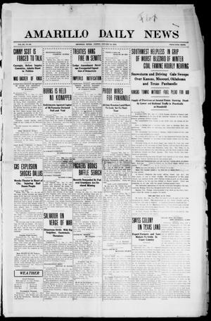 Primary view of object titled 'Amarillo Daily News (Amarillo, Tex.), Vol. 3, No. 60, Ed. 1 Friday, January 12, 1912'.