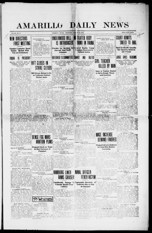 Amarillo Daily News (Amarillo, Tex.), Vol. 3, No. 71, Ed. 1 Thursday, January 25, 1912