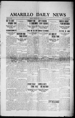 Primary view of object titled 'Amarillo Daily News (Amarillo, Tex.), Vol. 3, No. 101, Ed. 1 Thursday, February 29, 1912'.