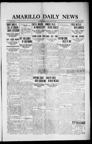 Primary view of object titled 'Amarillo Daily News (Amarillo, Tex.), Vol. 3, No. 117, Ed. 1 Tuesday, March 19, 1912'.