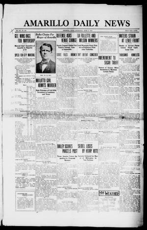 Amarillo Daily News (Amarillo, Tex.), Vol. 3, No. 130, Ed. 1 Wednesday, April 3, 1912