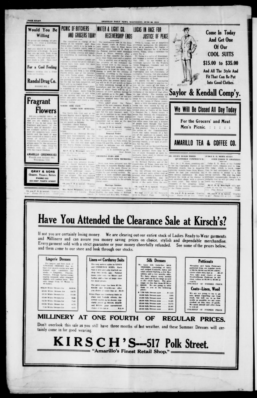 Amarillo Daily News (Amarillo, Tex ), Vol  3, No  202, Ed  1
