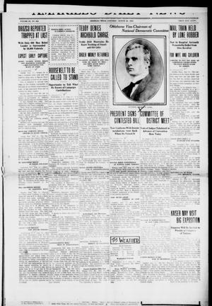 Primary view of object titled 'Amarillo Daily News (Amarillo, Tex.), Vol. 3, No. 253, Ed. 1 Saturday, August 24, 1912'.