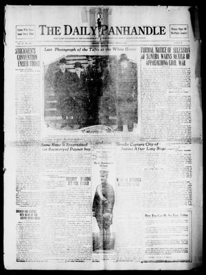 Primary view of object titled 'The Daily Panhandle (Amarillo, Texas), Vol. 6, No. 360, Ed. 1 Thursday, March 6, 1913'.