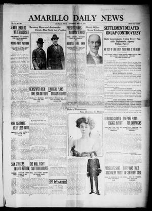Primary view of object titled 'Amarillo Daily News (Amarillo, Tex.), Vol. 4, No. 168, Ed. 1 Saturday, May 17, 1913'.