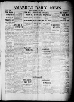 Primary view of object titled 'Amarillo Daily News (Amarillo, Tex.), Vol. 4, No. 198, Ed. 1 Sunday, June 22, 1913'.