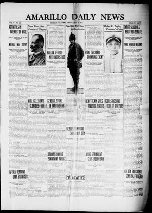 Primary view of object titled 'Amarillo Daily News (Amarillo, Tex.), Vol. 4, No. 209, Ed. 1 Friday, July 4, 1913'.