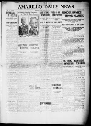 Primary view of object titled 'Amarillo Daily News (Amarillo, Tex.), Vol. 4, No. 224, Ed. 1 Tuesday, July 22, 1913'.