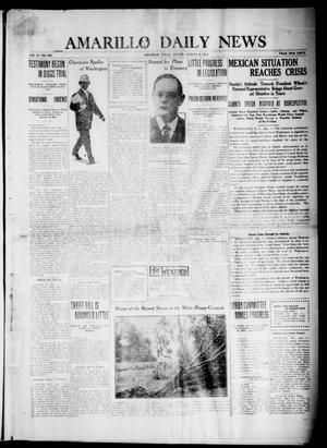 Primary view of object titled 'Amarillo Daily News (Amarillo, Tex.), Vol. 4, No. 239, Ed. 1 Friday, August 8, 1913'.