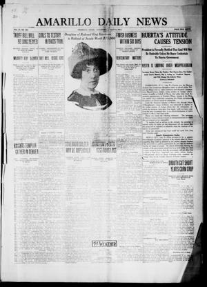 Primary view of object titled 'Amarillo Daily News (Amarillo, Tex.), Vol. 4, No. 240, Ed. 1 Saturday, August 9, 1913'.