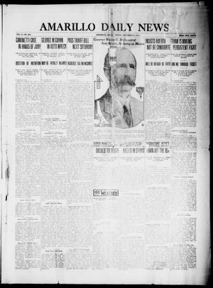 Primary view of object titled 'Amarillo Daily News (Amarillo, Tex.), Vol. 4, No. 263, Ed. 1 Friday, September 5, 1913'.