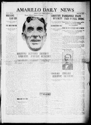 Primary view of object titled 'Amarillo Daily News (Amarillo, Tex.), Vol. 4, No. 291, Ed. 1 Tuesday, October 7, 1913'.