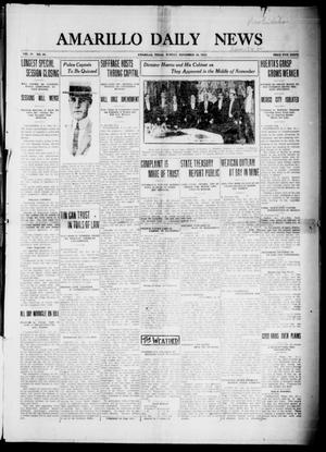 Primary view of object titled 'Amarillo Daily News (Amarillo, Tex.), Vol. 4, No. 24, Ed. 1 Sunday, November 30, 1913'.