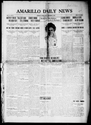 Primary view of object titled 'Amarillo Daily News (Amarillo, Tex.), Vol. 4, No. 30, Ed. 1 Sunday, December 7, 1913'.