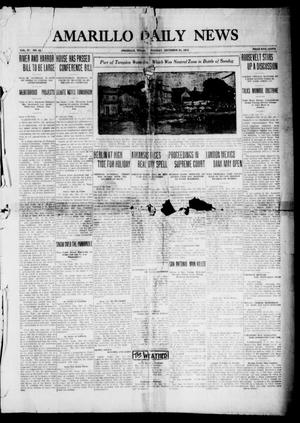 Primary view of object titled 'Amarillo Daily News (Amarillo, Tex.), Vol. 4, No. 43, Ed. 1 Tuesday, December 23, 1913'.