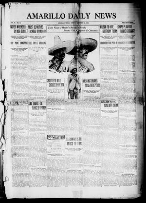 Primary view of object titled 'Amarillo Daily News (Amarillo, Tex.), Vol. 4, No. 48, Ed. 1 Sunday, December 28, 1913'.