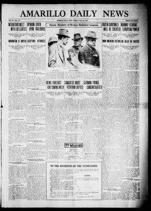 Primary view of object titled 'Amarillo Daily News (Amarillo, Tex.), Vol. 4, No. 174, Ed. 1 Sunday, May 24, 1914'.