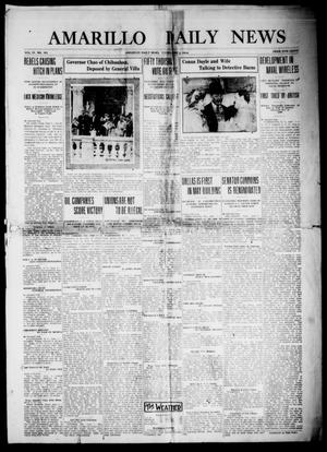 Primary view of object titled 'Amarillo Daily News (Amarillo, Tex.), Vol. 4, No. 181, Ed. 1 Tuesday, June 2, 1914'.