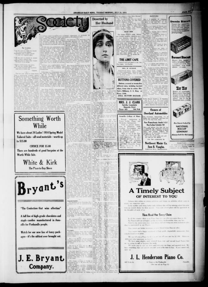Amarillo Daily News (Amarillo, Tex.), Vol. 4, No. 229, Ed. 1 ...
