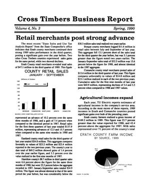Cross Timbers Business Report, Volume 4, Number 3, Spring 1990