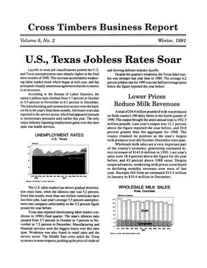 Cross Timbers Business Report, Volume 5, Number 2, Winter 1991