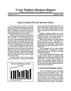 Cross Timbers Business Report, Volume 8, Number 4, Summer 1994