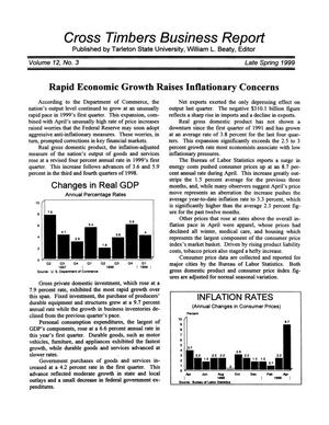 Cross Timbers Business Report, Volume 12, Number 3, Spring 1999