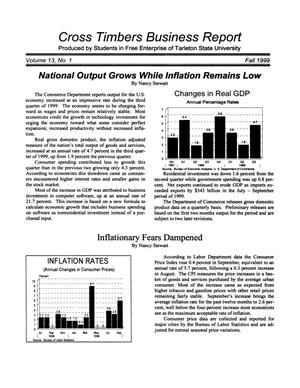 Primary view of object titled 'Cross Timbers Business Report, Volume 13, Number 1, Fall 1999'.