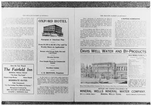 Primary view of object titled 'The Health Resort Quarterly, 4 of 4:  Pages 4 and 5'.
