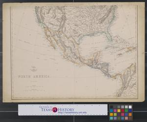 Primary view of object titled 'North America (south sheet).'.