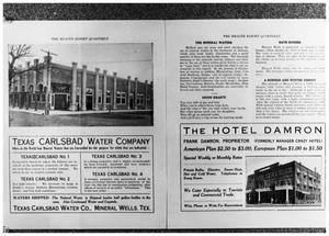 Primary view of object titled 'The Health Resort Quarterly, 3 of 4:  Pages 2 and 3'.