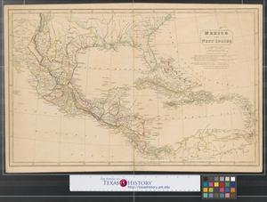 Primary view of object titled 'Mexico and West Indies.'.