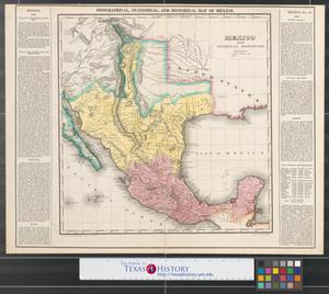 Primary view of object titled 'Mexico and internal provinces: prepared from Humboldt's map & other documents.'.