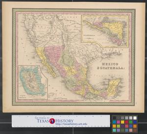 Primary view of object titled 'Mexico & Guatemala.'.